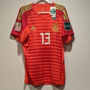 Mexico Ochoa Goalkeeper Home Jersey